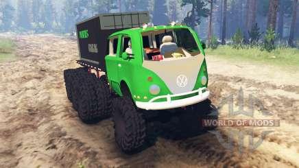 Volkswagen Samba 8x8 para Spin Tires