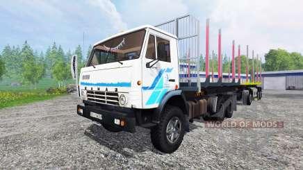 KamAZ-53212 [madeira] para Farming Simulator 2015