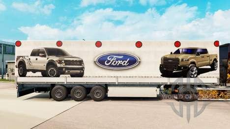 Pele Ford semi para Euro Truck Simulator 2