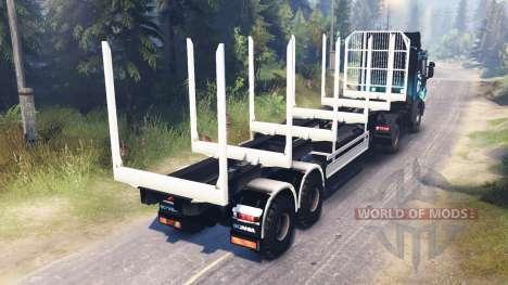Scania R730 2x2 para Spin Tires