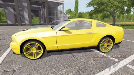 Ford Mustang para Farming Simulator 2017