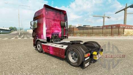 Pele Weltall no tractor DAF para Euro Truck Simulator 2