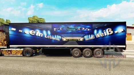 A pele, o FC Schalke 04 na semi para Euro Truck Simulator 2