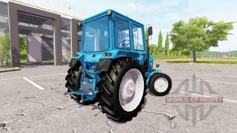 MTZ-80, Bielorrússia v2.0 para Farming Simulator 2017