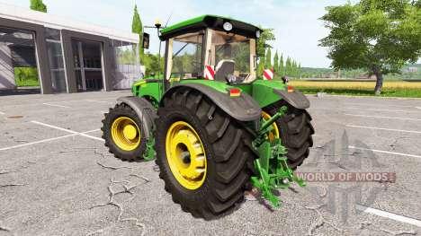 John Deere 8530 v1.1 para Farming Simulator 2017