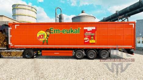 Pele Kinder Em-eukal na semi para Euro Truck Simulator 2
