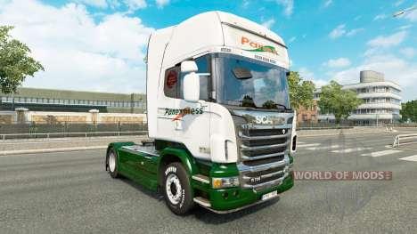 Pele Panexpress no trator Scania para Euro Truck Simulator 2