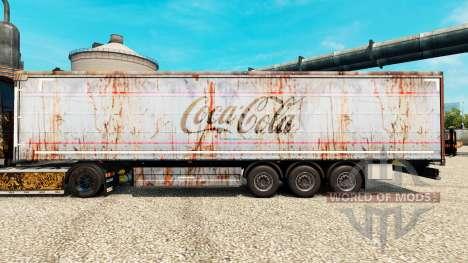 Pele Coca-Cola, em rusty reboques para Euro Truck Simulator 2