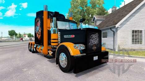 A pele da Harley-Davidson para o caminhão Peterb para American Truck Simulator