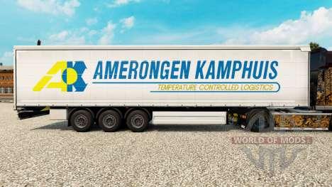 Pele Amerongen Kamphuis em uma cortina semi-rebo para Euro Truck Simulator 2