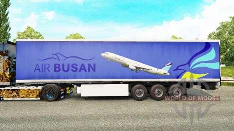 A pele do Ar Busan para reboques para Euro Truck Simulator 2