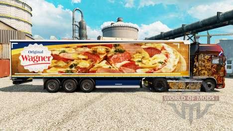 Pele para Wagner semi para Euro Truck Simulator 2