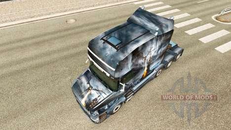 Dragão v2 pele para caminhão Scania T para Euro Truck Simulator 2