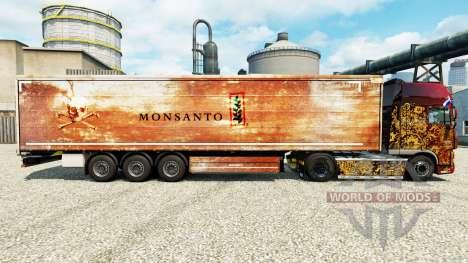 Pele Monsanto para reboques para Euro Truck Simulator 2