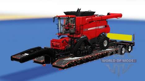 Uma coleção de trailers com carga v2.5 para American Truck Simulator