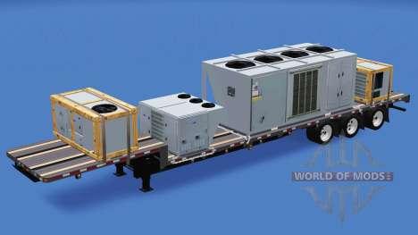 Uma coleção de trailers v1.2.1 para American Truck Simulator