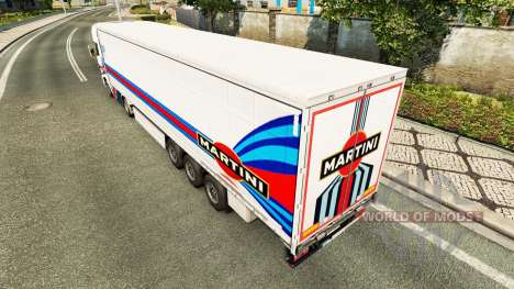 Pele Martini Rancing para reboques para Euro Truck Simulator 2