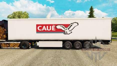 Pele Caue para reboques para Euro Truck Simulator 2