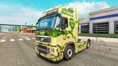 A pele sobre o Krone caminhão trator Volvo para Euro Truck Simulator 2