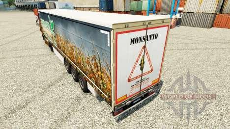 A Monsanto Bio pele para reboques para Euro Truck Simulator 2