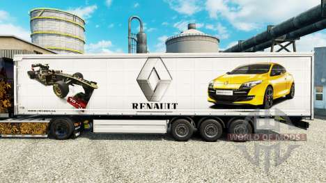 Pele Renault F1 Team para a semi para Euro Truck Simulator 2