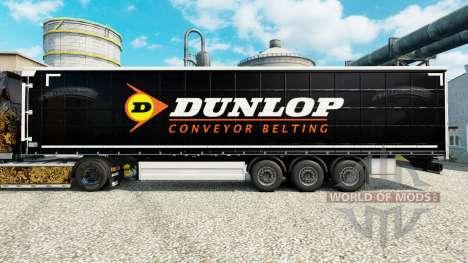 Pele Dunlop semi para Euro Truck Simulator 2
