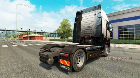 Euro Express pele para a Volvo caminhões para Euro Truck Simulator 2
