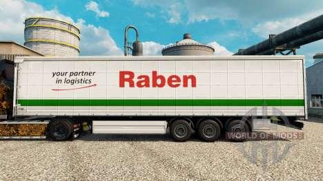 Raben pele para reboques para Euro Truck Simulator 2