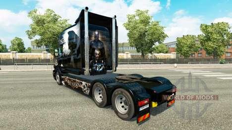 Batman pele para caminhão Scania T para Euro Truck Simulator 2