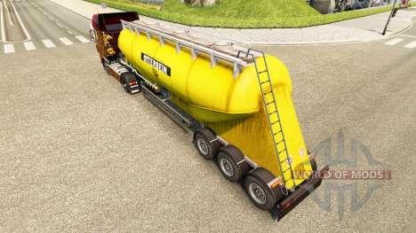 Pele Otterbein cimento semi-reboque para Euro Truck Simulator 2
