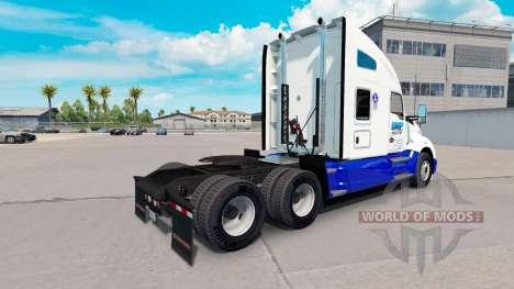 Pele BMP Transporte Transporte no trator Kenwort para American Truck Simulator