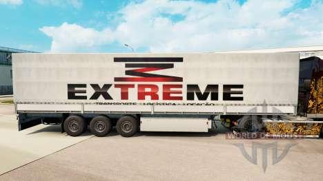 Extrema pele para reboques para Euro Truck Simulator 2