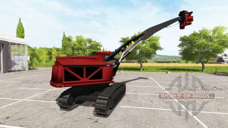 Escavadeira-colheitadeira para Farming Simulator 2017
