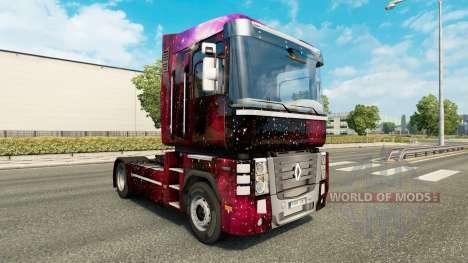 Weltall pele para a Renault Magnum truck para Euro Truck Simulator 2