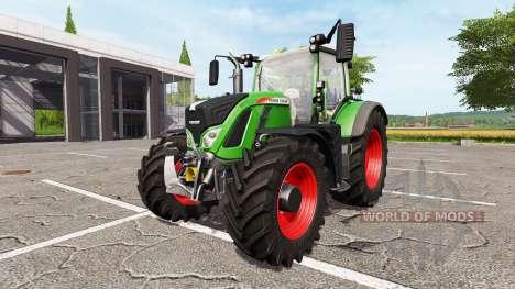 Fendt 720 Vario v1.02 para Farming Simulator 2017