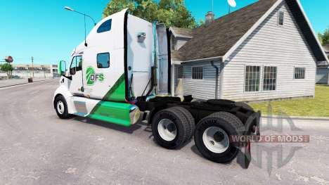 Pele DFS caminhão trator Peterbilt 387 para American Truck Simulator