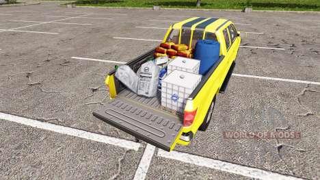 Lizard Pickup TT Service v1.2 para Farming Simulator 2017