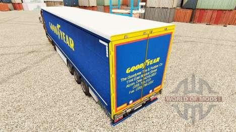 Pele Bom Ano para os reboques para Euro Truck Simulator 2