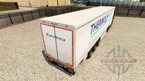 Pele Termo Corrente em uma cortina semi-reboque para Euro Truck Simulator 2