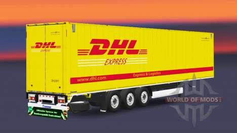 Uma coleção de trailers para Euro Truck Simulator 2