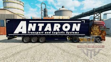 Pele Antaron para reboques para Euro Truck Simulator 2