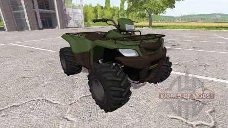 O quadriciclo para Farming Simulator 2017
