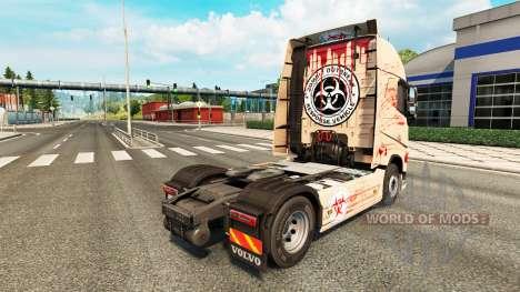 Bloody pele para a Volvo caminhões para Euro Truck Simulator 2