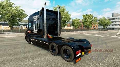 Fulda pele para caminhão Scania T para Euro Truck Simulator 2