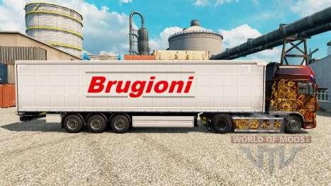 Pele Brugioni na semi para Euro Truck Simulator 2