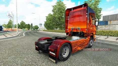 Pele de Espaço no tractor Scania para Euro Truck Simulator 2