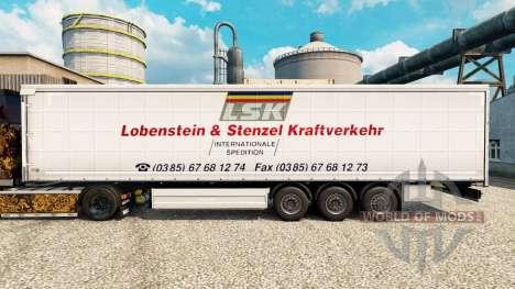 Pele LSK para reboques para Euro Truck Simulator 2