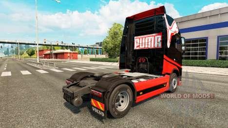 Puma pele para a Volvo caminhões para Euro Truck Simulator 2
