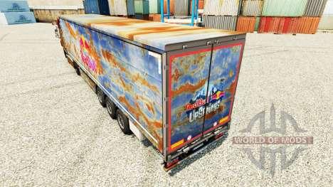 O Red Bull pele para reboques para Euro Truck Simulator 2