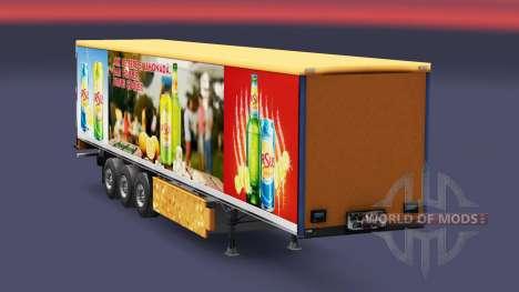 Pele de Ursus Cooler para reboques para Euro Truck Simulator 2